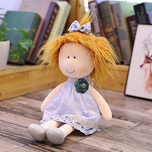 JSJJATQ Peluche Juguetes para niños Muñecas de Trapo Hechas a Mano para decoración del hogar y diseño de Interiores Toy de Regalo de 14 Pulgadas Juguetes interesantes (Color : 4)