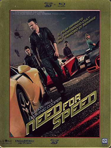 Need for speed (2D+3D steelbook) [3D Blu-ray] [IT Import]