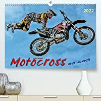 Motocross - so cool (Premium, hochwertiger DIN A2 Wandkalender 2022, Kunstdruck in Hochglanz): Motocross, faszinierender Extremsport mit spektakulaeren Spruengen (Monatskalender, 14 Seiten )