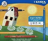 LYRA Super Ferby Kartonetui mit 18 Farbstiften, Sortiert -