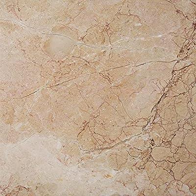 Marbletiledirect Rosalia Pink Marble Polished and Beveled Tile