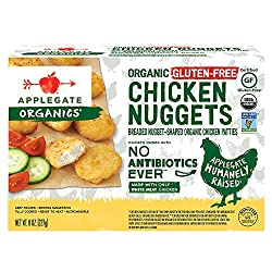 Applegate, Organic Gluten-Free Chicken Nuggets, 8oz (Frozen)
