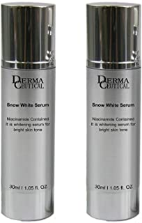 x2 SNOW WHITE SERUM/Niacinamide Contained For Bright Skin Tone – DermaCeutical