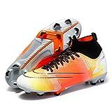 Xinghuanhua Chaussures de Football Homme High Top Chaussures de Sport Adolescents Chaussures de Foot en Plein Air Unsisexe