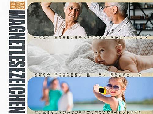 Magnetische Lesezeichen Geschenke mit Foto selbst gestalten 3 Stück 10 x 2,5 cm Page Seiten Marker Book Marks Mitgebsel Personalisiert Wunschfoto Bedruckt