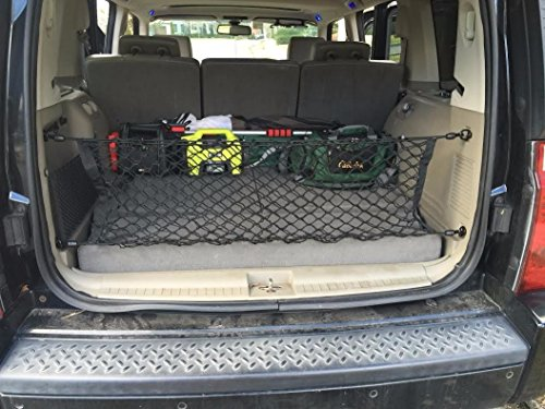 Envelope Style Trunk Cargo Net for Jeep Commander 2006 2007 2008 2009 2010