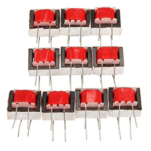 CynKen 10PCS Audio Transformers EI14 Isolation Transformer