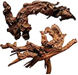 WDEFUN Natural Coral Driftwood for Aquarium,9 Inch-14 Inch Length, Large Size Driftwood for Decor On...