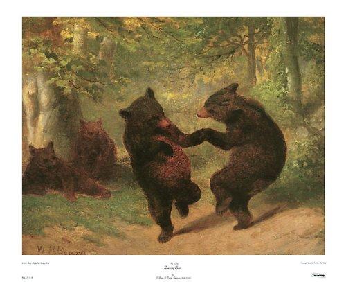 dancing bears painting - 5