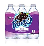 Fruit2O Zero Calorie Flavored Water, Grape, 6 Count (Pack of 4)