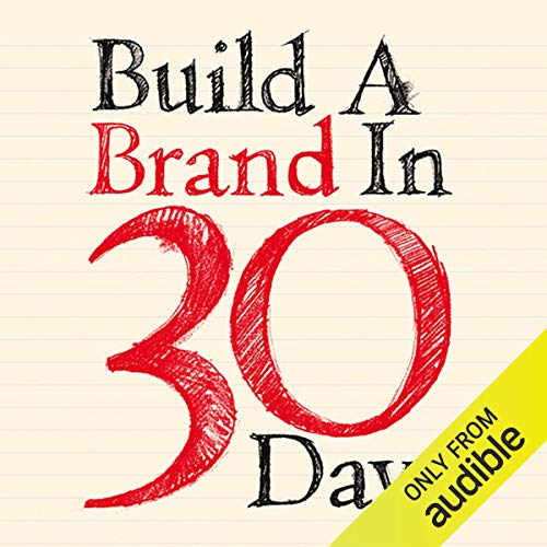 Build a Brand in 30 Days audiobook cover art