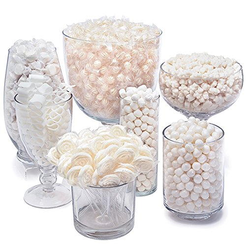 White Candy Kit - Party Candy Buffet Table