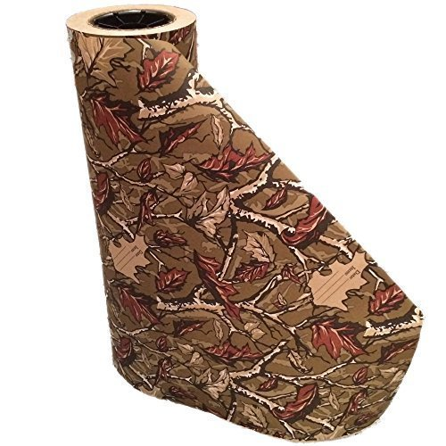 "Quality Paper Camo Freezer Paper Roll, 18"" L"