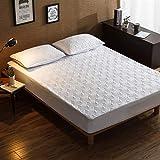 CYYyang Protector de colchón, algodón, poliéster, Una Sola Pieza de Funda Protectora de Color Puro para sábana-20_180 * 220cm