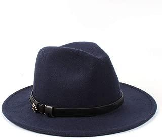 SHENTIANWEI 2019 Men Women Wool Fedora Hat Dance Party Hat Casual Wild Church Hat Panama Jazz Hat Size 56-58CM