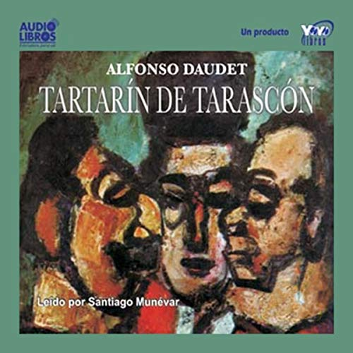 Tartarin de Tarascon [Tartarin of Tarascon] audiobook cover art