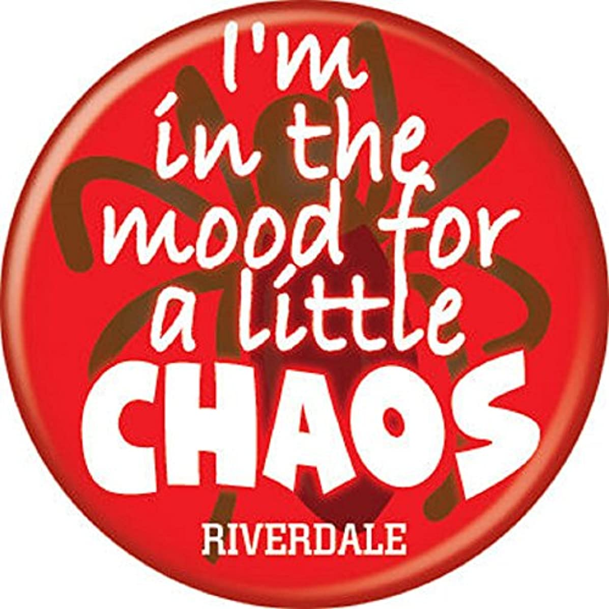 Riverdale - Time for Chaos - Pinback Button 1.25