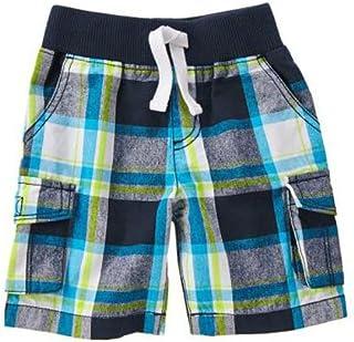 (クレイジーエイト) Crazy 8 青 チェックのさわやか半ズボン パンツ [並行輸入品]