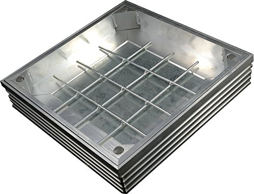 CD 790R//80-GT 600 X 450 X 80mm GrassTop Recessed Manhole Cover