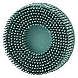 Smeriglio + Spazzola per lucidare con setole in gomma Disco in setole Spazzola per dischi ...