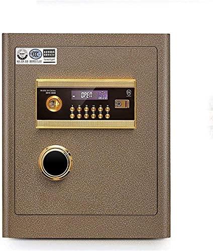 Cajas seguras Caja de seguridad Seguridad Seguridad Lcd Mostrar gabinete Seguro Huella digital Oficina de huellas marítimas Contraseña electrónica Caja fuerte Alta Safe All Steel Plate Safe Insurance