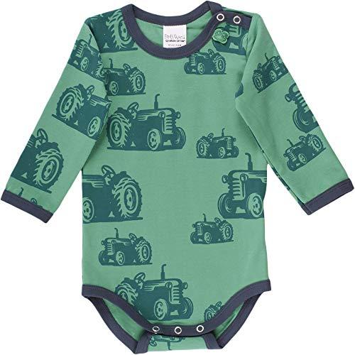 Fred'S World By Green Cotton Farming Body, Vert (Green 018602201), 62 Bébé garçon