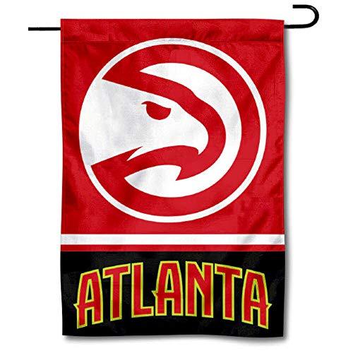 WinCraft Atlanta Hawks Double Sided Garden Flag
