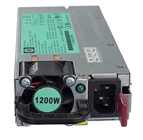 HP 578322-B21 unidad de funte de alimentación - Fuente de alimentación (1200W, 100 - 240V, 94%, Activo, Servidor, ProLiant SL300s, SL100z, SL100s, DL980, DL585, DL580, DL385, DL380, DL100h/he, DL100e series) Negro, Gris, Plata