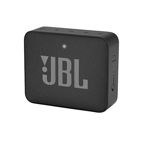 JBL Go2+ - Altavoz multimedia portátil con Bluetooth, color negro