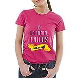 Regalo para Despedida de Soltera: Camiseta 'Lo Siento, Chicos ¡me Caso!' para Regalar a la Novia (Rosa, XL)