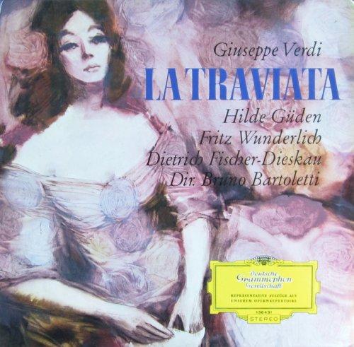 Verdi: LA TRAVIATA (Opernquerschnitt in deutscher Sprache - Muenchen 1966) [Vinyl LP] [Schallplatte]