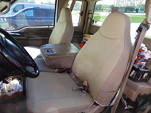 Durafit Seat Covers, F238-X3, 1999-2007 Ford F250-F550 Base Model Only, Front...