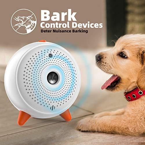 Antibell für Hunde, Hund Ultraschall Anti Bellgerät Bellenstopper Antibell für Hunde Sicheres und Menschliches Hundebellen Abschreckmittel für Kleine bis Große Hunde Innen Außenbereich Anti Bell