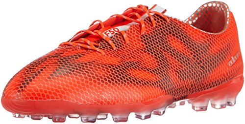 adidas F50 Adizero Ag, Herren Fußballschuhe, Rot (Solar Red/Ftwr White/Core Black), 46 2/3 EU (11.5 Herren UK)