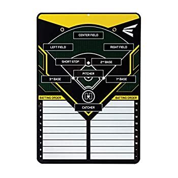 EASTON COACHES Ultimate Magnetic Line Up Board | 2021 | Keep Your Team s Lineup Like The Pro s | Includes Pen And Hanging Fence Hook | Every Player Will Know Their Position And Batting Order