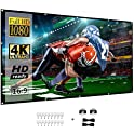 BNMM 120 inch 16:9 4K HD Foldable Portable 3-Layer Projector Movies Screen