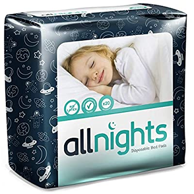 Drylife All Nights Disposable Bed Pads - 60x60cm by Drylife
