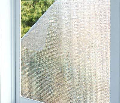 Piero Geen lijm elektrostatisch glas film ramen bloem papier zonnescherm raamstickers ondoorzichtig, breed 45cm