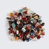 ARONG Noble 100 g/porción de Cristal de Cuarzo de Color Natural Regalos Mini Piedra de la Roca Chips Curación Las muestras de Piedra de Cuarzo Coleccionismo Decoración del hogar Accesorios Femeninos