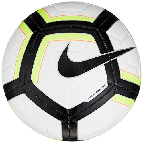 Nike Unisex – Erwachsene NK Strk Team Ball,Mehrfarbig (weiß / volt / schwarz / schwarz), 5