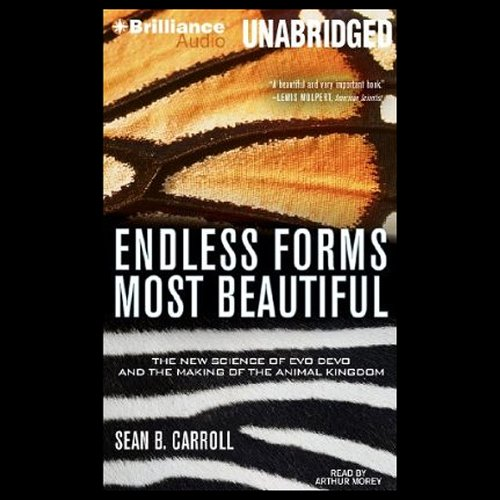 Endless Forms Most Beautiful audiobook cover art