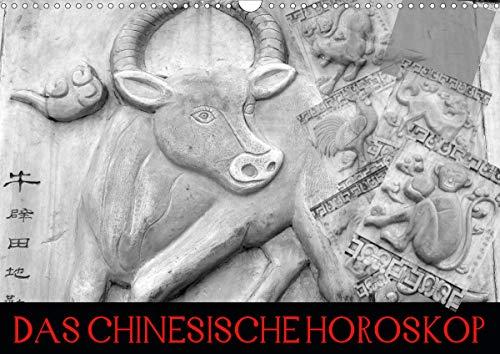 Das Chinesische Horoskop/Geburtstagskalender (Wandkalender 2021 DIN A3 quer)