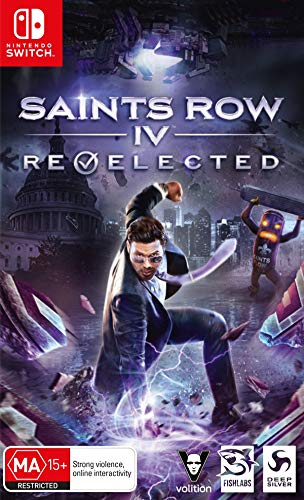 NSW Saints Row: IV Re-Elected - Standard Edition - Nintendo Switch