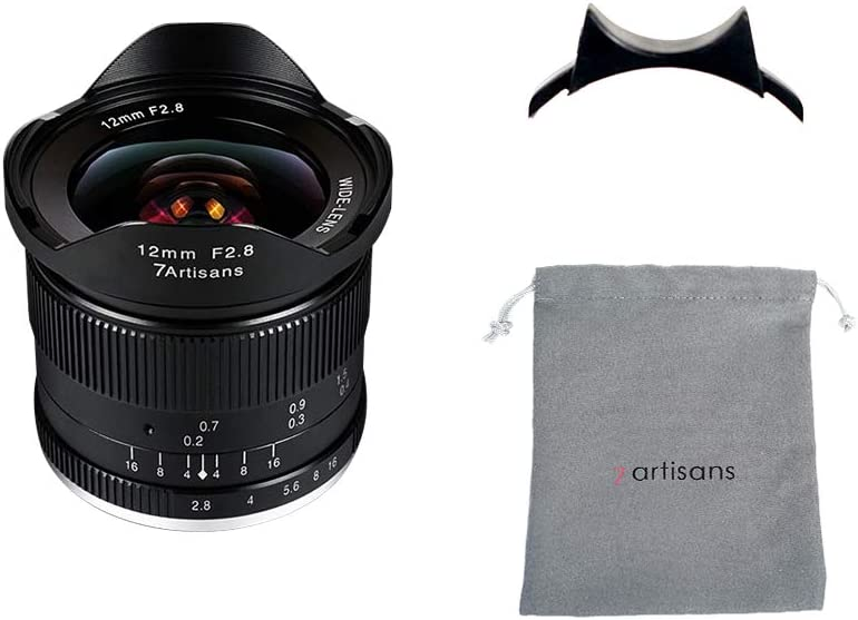Nippon regular agency 7artisans 12mm F2.8 Ultra Wide Angle Prime Fixed Focus Le Ranking TOP9 Manual