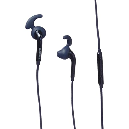 Samsung Active InEar Headphones for Universal/SmartPhones, Retail Packaging - Black Sapphire - EO-EG920LBEGUS