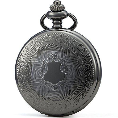 SEWOR - Reloj de Bolsillo clásico, Acabado Liso, Movimiento