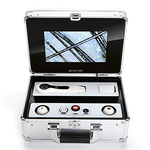 WFZGZ Analizador De Piel, 9 Pulgadas Microscopio Digital Inteligente Profesional 50X 200X...