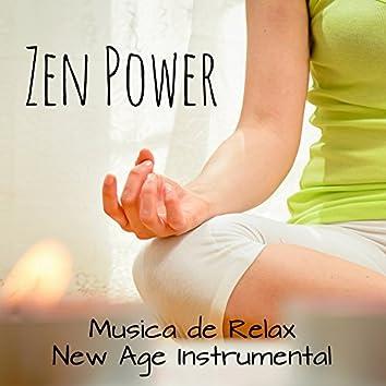 Zen Power - Musica de Relax New Age Instrumental para Dormir Profundamente Desarrollo de la Mente Clases de Yoga con Sonidos Naturales Binaurales Espirituales