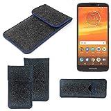 K-S-Trade® Protective Felt Case For Motorola Moto E5 Plus