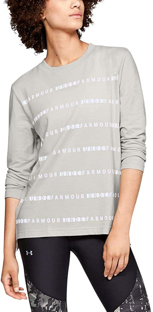Under Armour Women's Graphic store Wm Sleeve Large-scale sale Long Stripe
